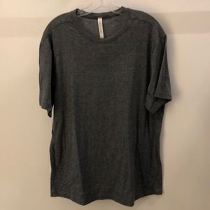 lululemon athletica Shirts - Lululemon men's gray SS top, sz XL, 64882